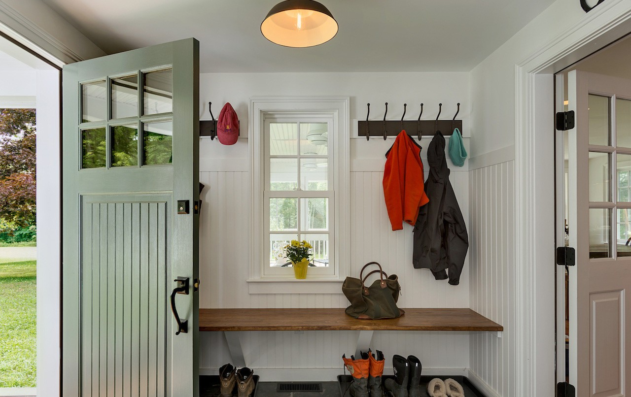 Design Mudroom Ideas mudroom ideas that make rainy days ok aid on nearly every apartment dwellers pinterest board youre going to find a room just for coats and wel