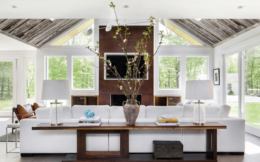 living room remodel in Greenwich CT