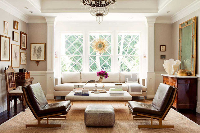 transitional style decor