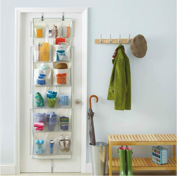 small closet over the door hangers
