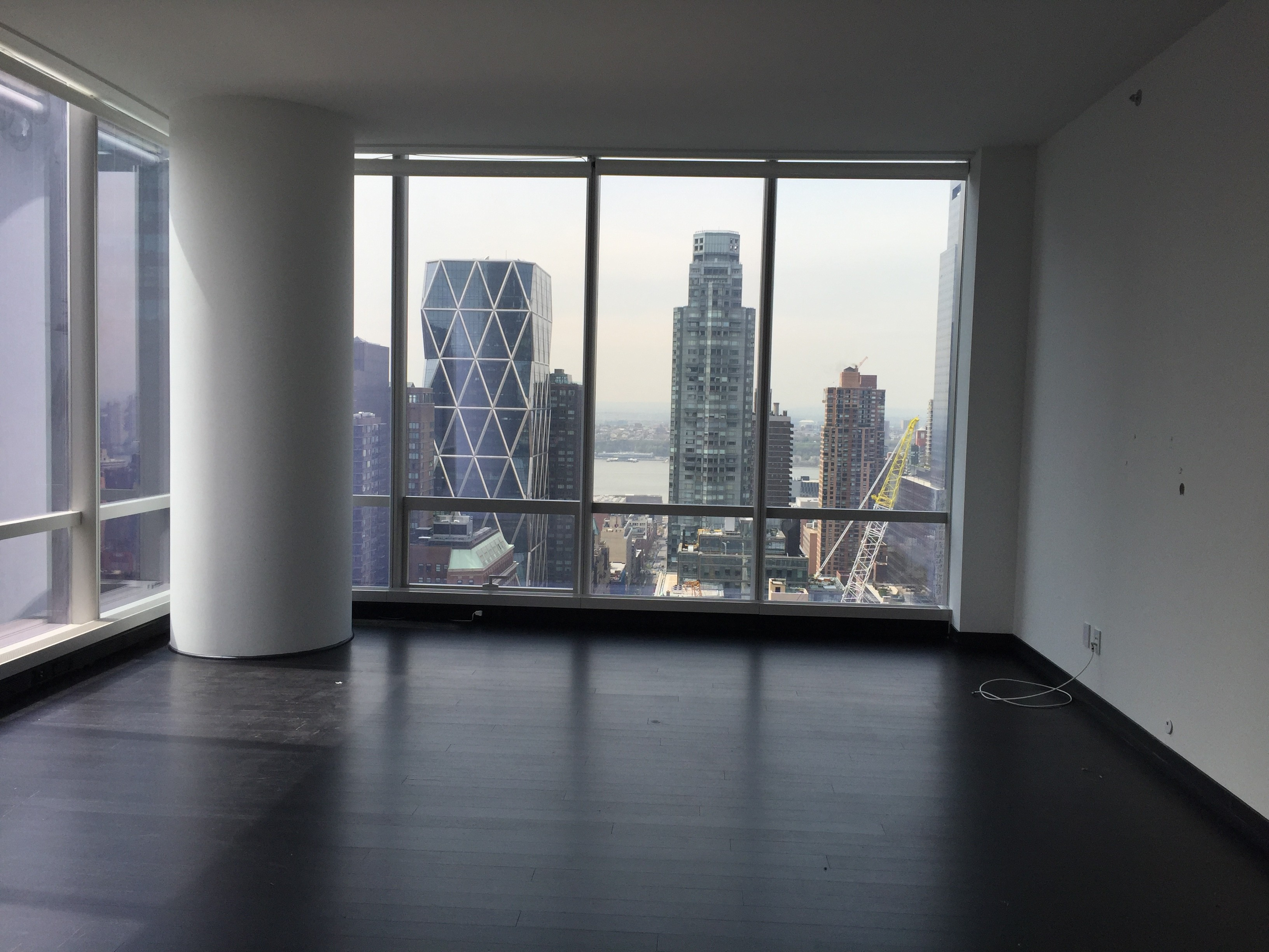 Living Room Before Of One57 apartment