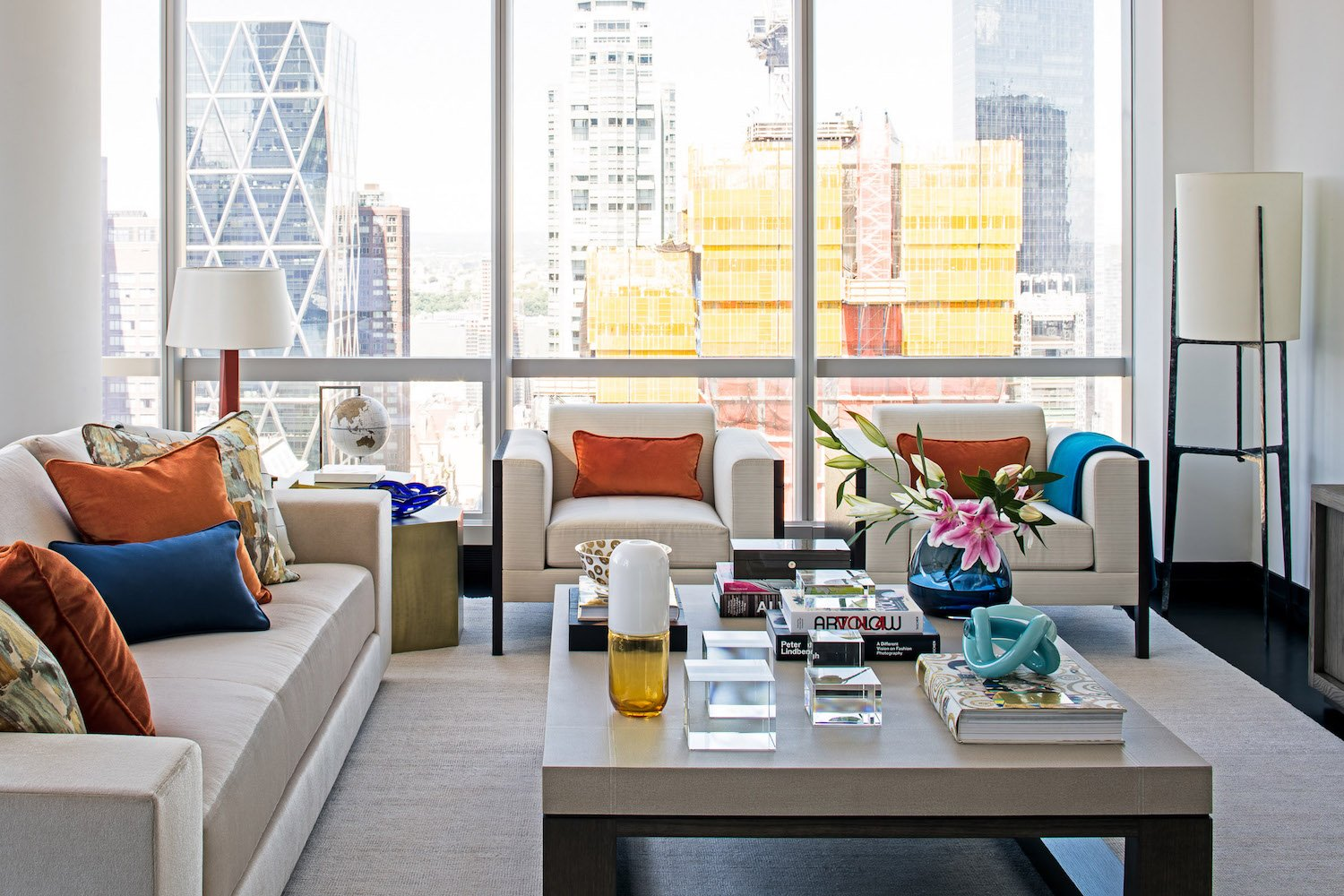 one57 luxury condo living room