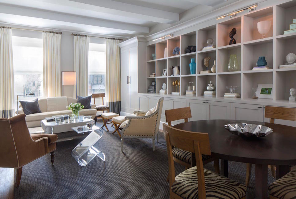 A Pre War Apartment Gets A Transitional Style Redesign Décor Aid