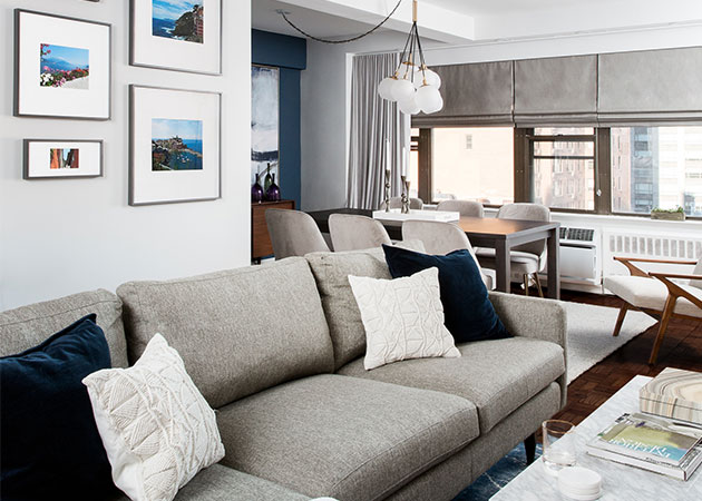 Beautiful and Functional Mid-century Modern Apartment I Décor Aid