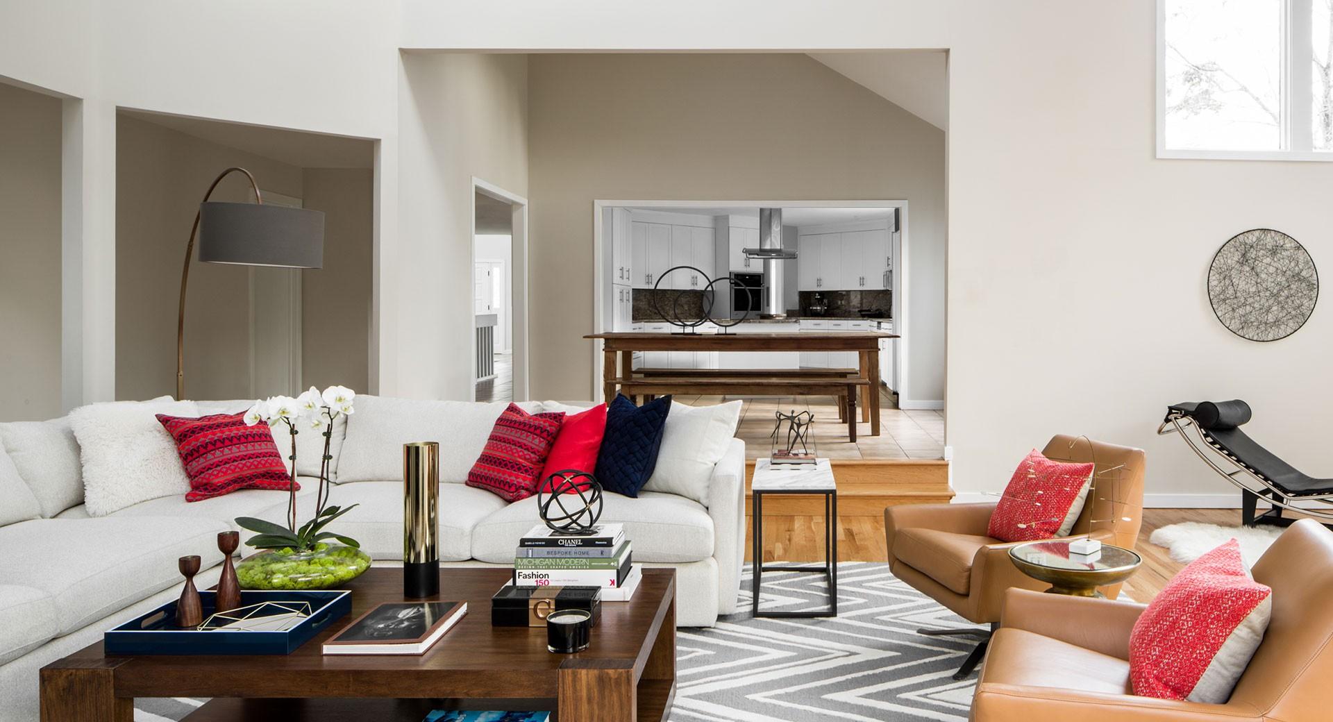 Custom Living Room Design Connecticut