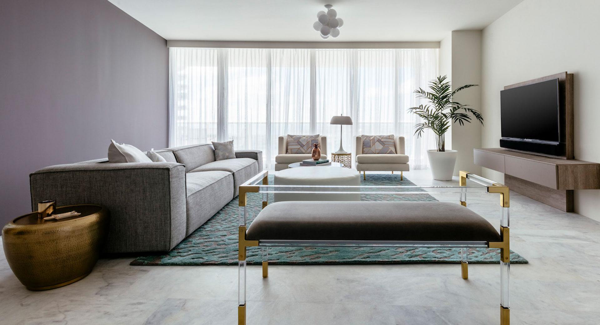 Modern Living Room After