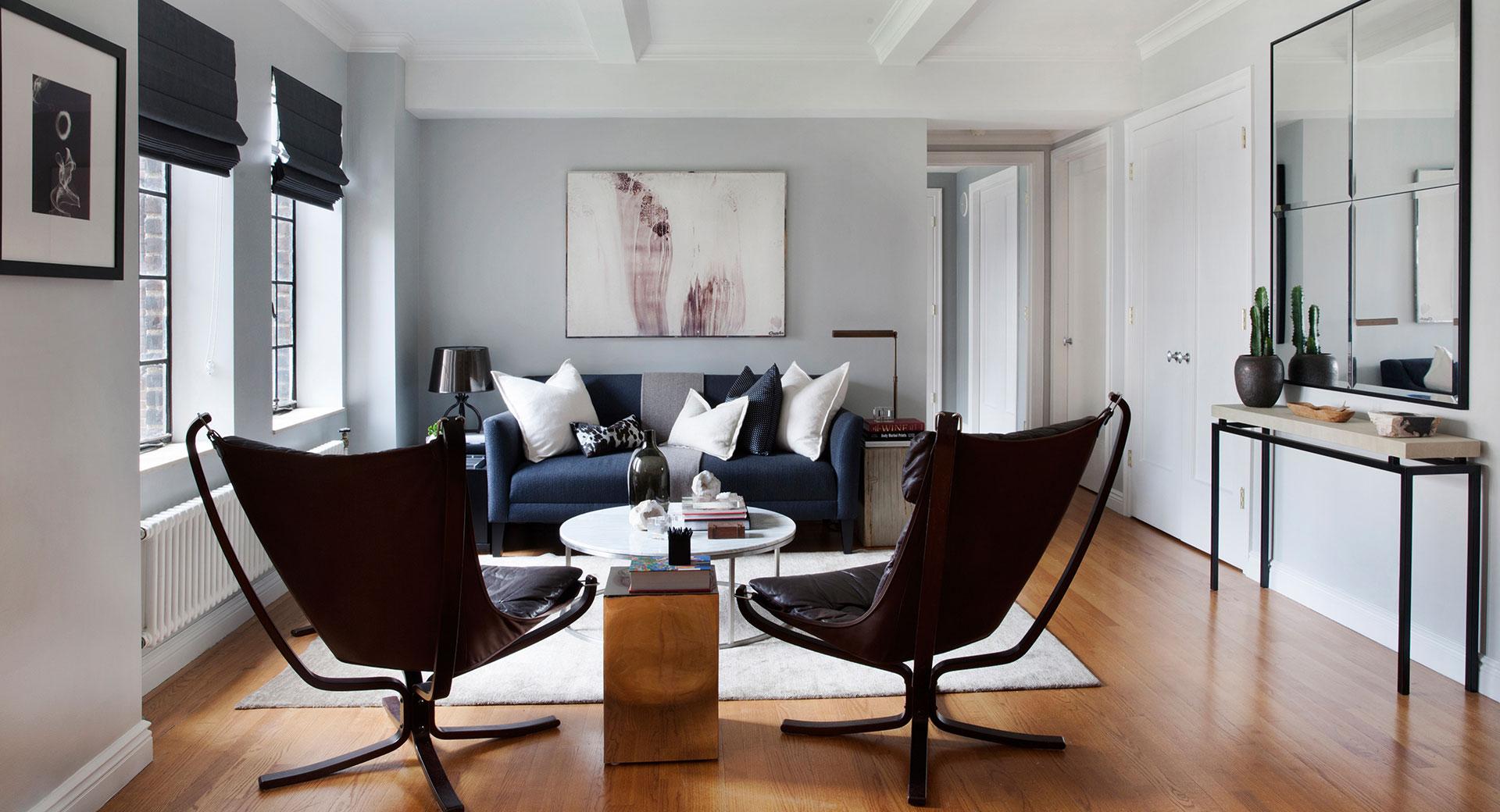 Custom Designed Living Room After