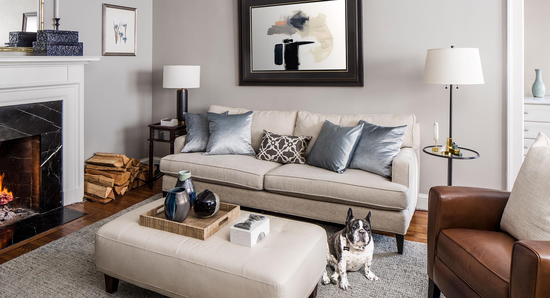 Custom Living Room Design After