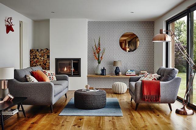 copper interior design accessories