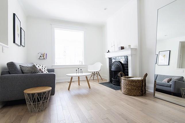scandinavian living room interior decor