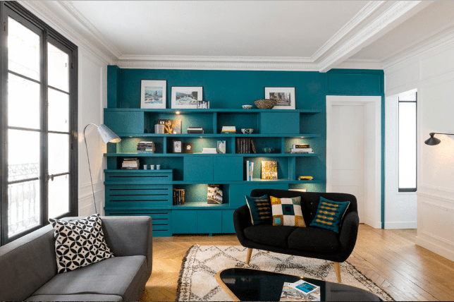 living room paint colors accent wall ideas