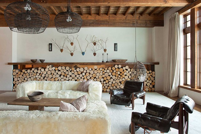 rustic interior design styles meaning
