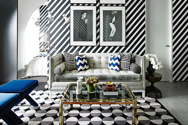 striped living room paint ideas