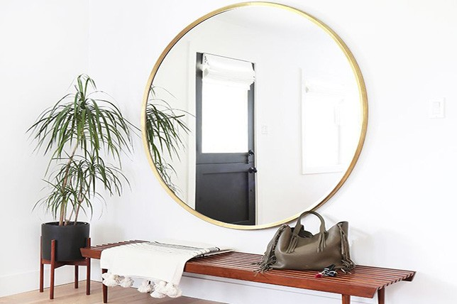 ide cermin gaya bohemian
