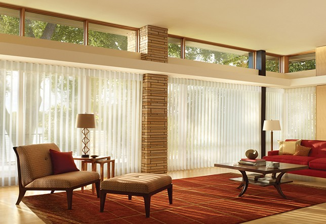 mid century modern design window treatments curtains