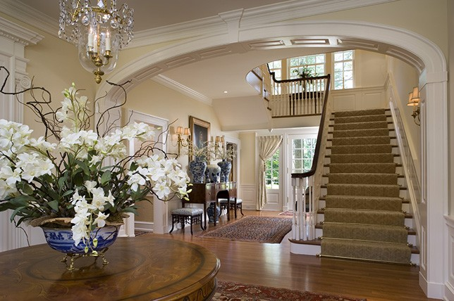 traditional interior design homes