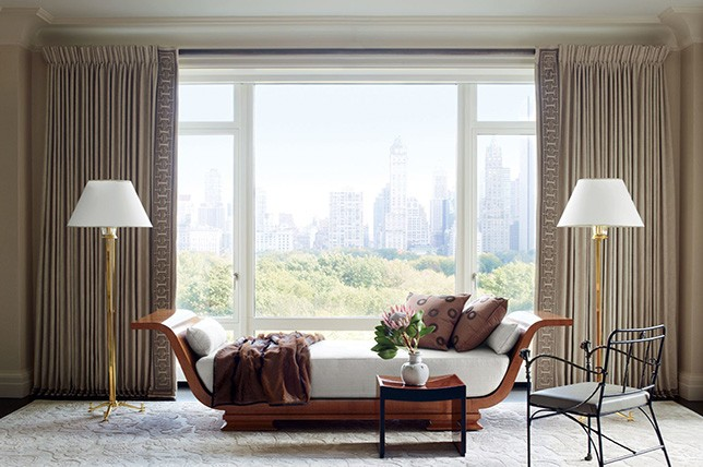 traditional interior design window treatment ideas