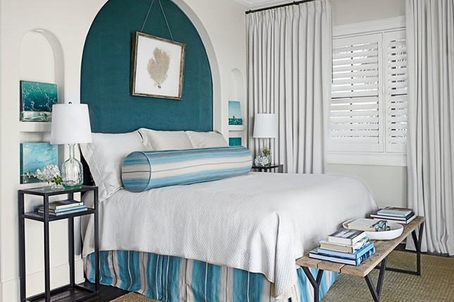 aqua blue bedroom paint colors