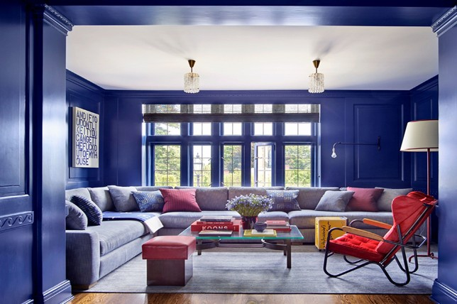 Living room paint colors the 14 best paint trends to try - Photos of living room paint colors ...
