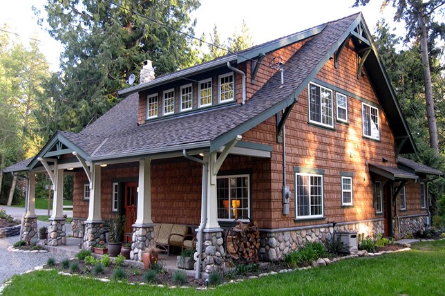 craftsman house dormers