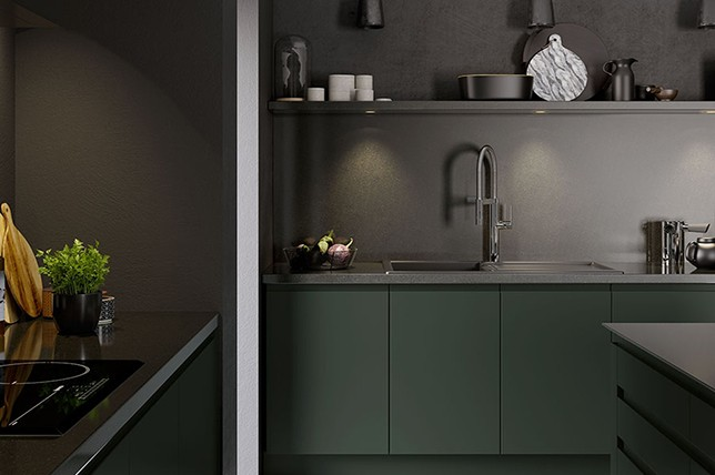 dark-kitchen-renovation-trends-2019 & Kitchen Renovation Trends 2019 - Get Inspired By The Top 32 | Décor Aid