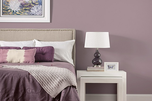 mauve bedroom paint colors