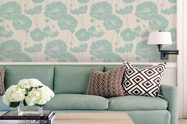 Modern Mint Green Living Room Paint Colors