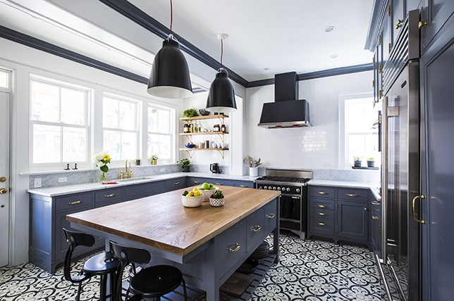 statement-flooring-kitchen-renovation-trends-2019
