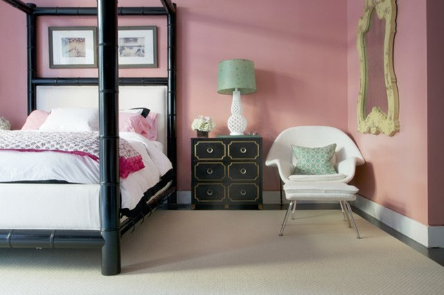 rose pink bedroom paint colors