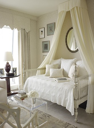 petite suspended canopy bed