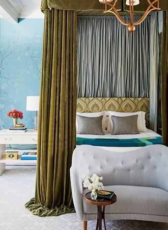 elegant modern canopy bed