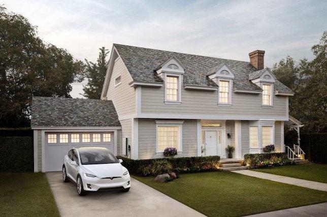 tesla solar roof designs