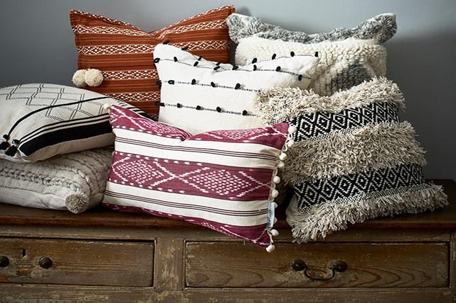 eclectic decorative pillows 2019