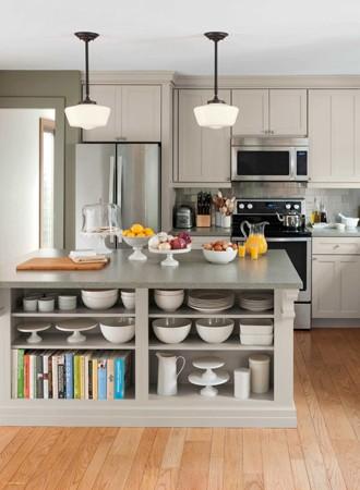 cookbook kitchen island