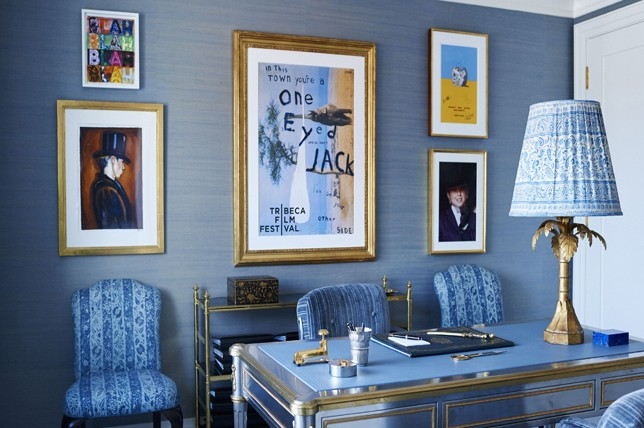 blue gray best interior paint for office