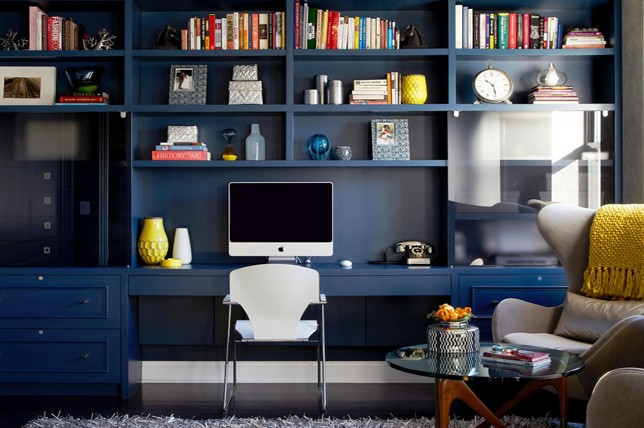 inky blue best interior paint for office
