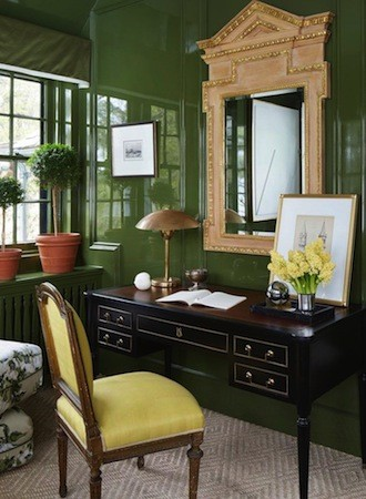 forest green best interior paint for office