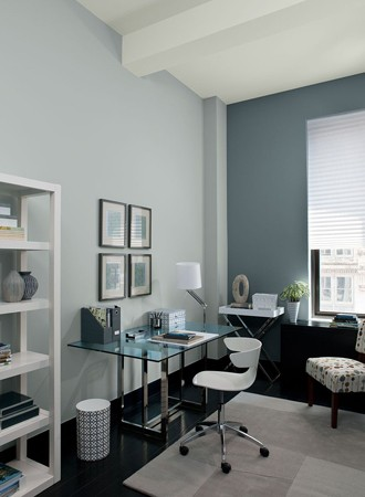 pale gray best interior paint for office