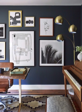 deep blue best interior paint for office
