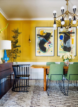 golden yellow best interior paint for office