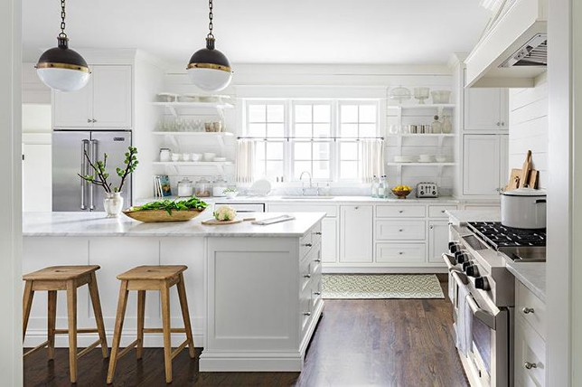 white small kitchen ideas
