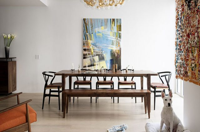 modern dining room walls decor