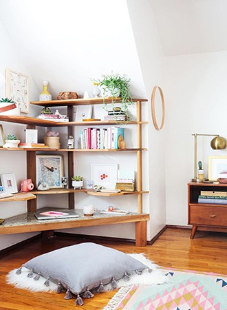 artful bedroom storage ideas