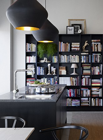 artful home library ideas