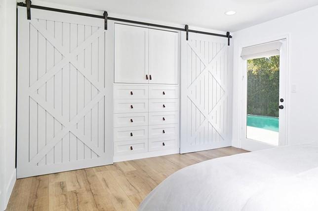 sliding doors bedroom storage ideas