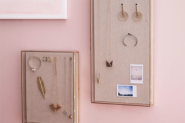 cork board bedroom storage ideas