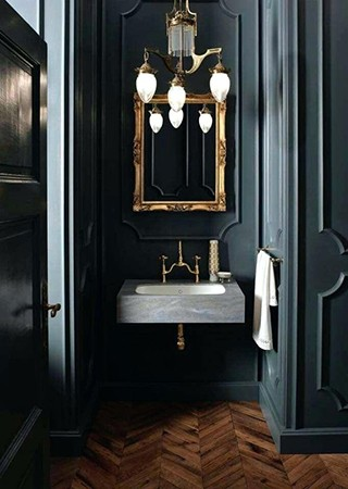 Dark Green Bathroom Paint Colors