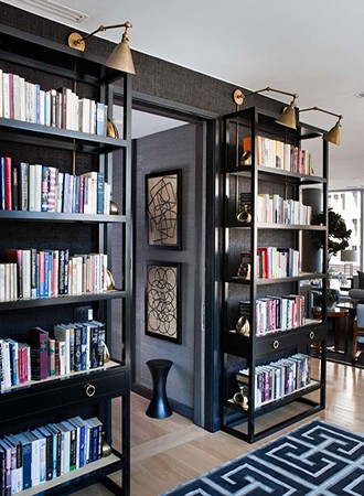 small space home library ideas
