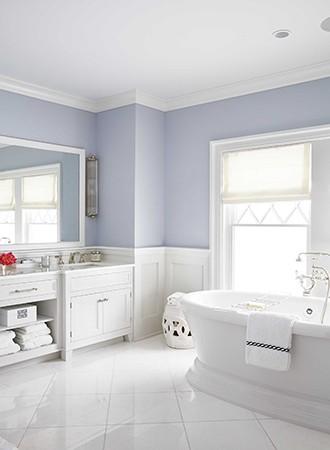 Sensational Lilac Bathroom Paint Colors Decor Aid Interior Design Ideas Inesswwsoteloinfo