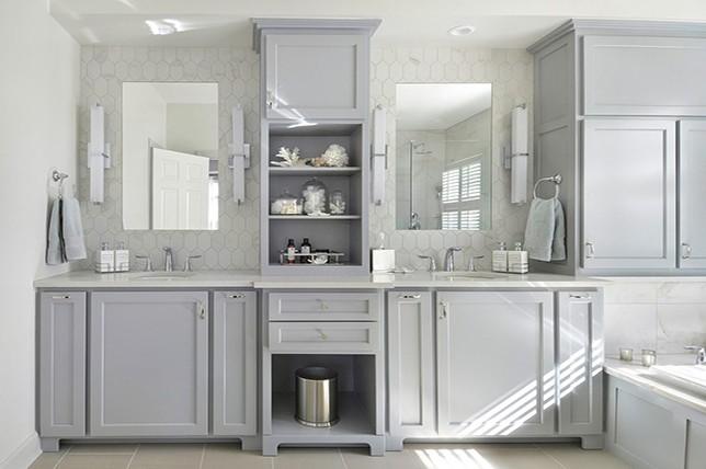 Lilac Gray Bathroom Paint Colors